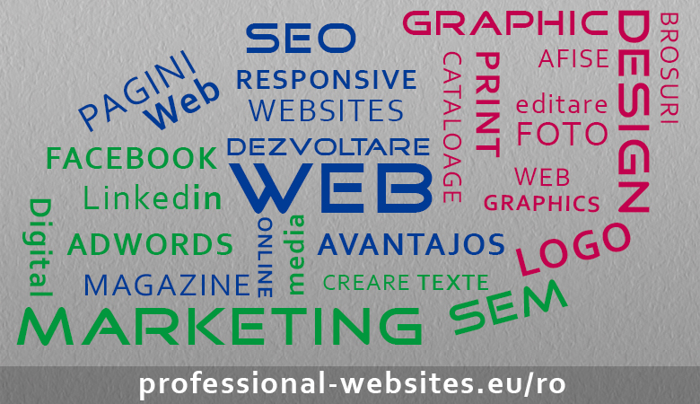 Servicii Web Design si Marketing Digital