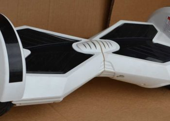 Model 2017 HoverBoard Mover L White MATT Transport in 24-48 de ore