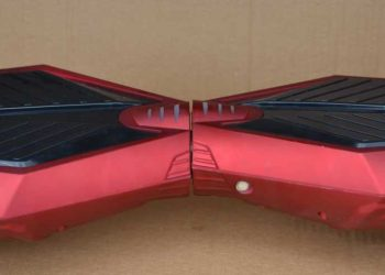 Model 2017 HoverBoard Mover L RED MATT Transport in 24-48 de ore