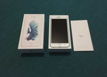 Phone 6s Plus silver 16 GB , impecabil , Full Box .