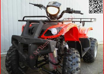 ATV BEMI Grizzly HUMMER 200CVT Red Full Automatic R10 PRO +Kupla