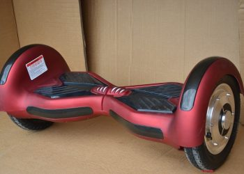 Hoverboard BAUMATIC S10inch Red-Matt AutoBalance New