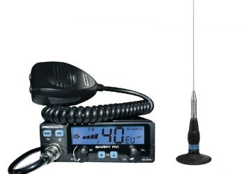 President Barry Statie Radio CB + President ML 145 UP Antena CB Prinde