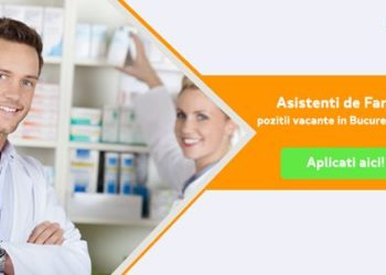 Recrutam Asistenti de Farmacie in Romania