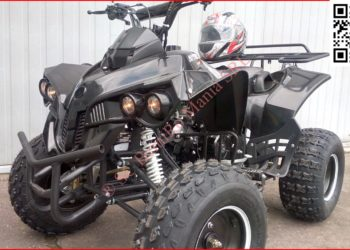 ATV New 2018 RENEGADE 125 Bemi 8″ SemiAutomatic 3 +R