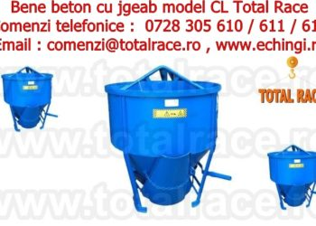 Cupe de beton capacitate mare Total Race