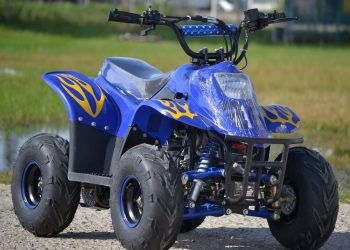"Atv Nou 2019 Model:Bigg-Foot 125cc Anvelope(6"")"