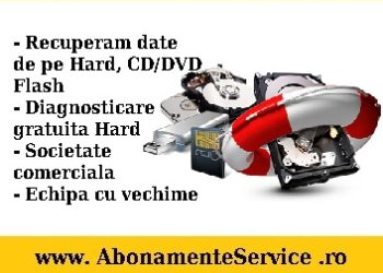 Oferta Recuperari Date Hdd, Cd/Dvd, Flash