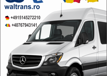 Transport Germania cu microbuze – Waltrans