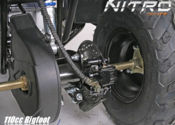 Atv BiggFoot 125cc Nitro-Motors Germany
