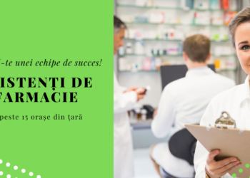Job Asistenti Farmacie, Romania