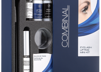 Mini kit Permanent de gene cu silicon Combinal Eyelash Lifting Dr. Tem