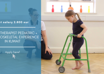 Physiotherapist Pediatric + musculoskeletal experience