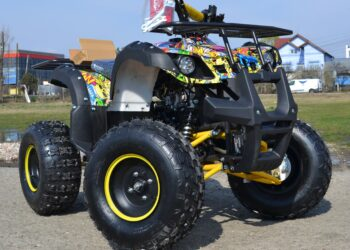 Atv 125Cc Grizzly Graffity Deluxe Semiautomat