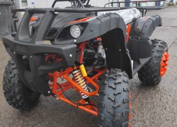 Atv Mega Pro Grizzly Deluxe Automat