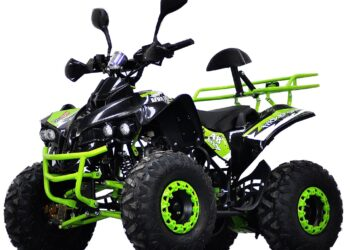 Atv 125Cc Pro Warrior Lemon Semiautomat/Roti De 8""